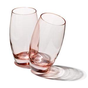 5011 : 41020-3 Wasserglas rose groß