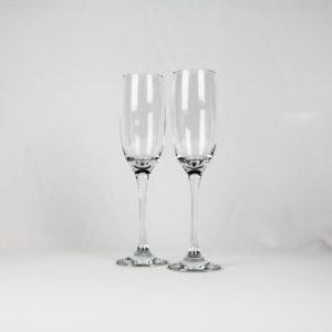 Sektglas glasklar 205 ml 3er Set