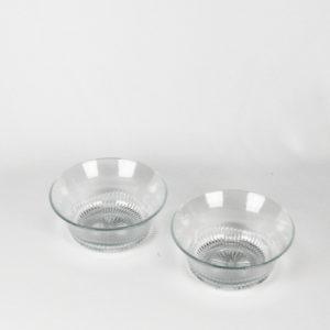 Servierschüssel glasklar 6er Set