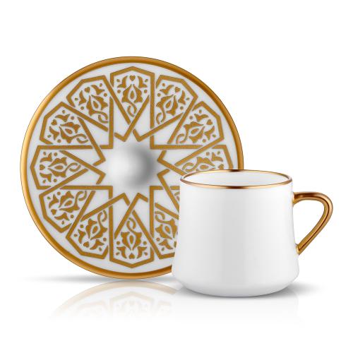 230ml Teetasse mit ovaler Untertasse aus Glas Kaffeetasse Kaffee Tee