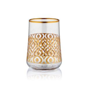 1461140680-40491_aheste-kahve-ikat-altin_01-9666-kleines-wasserglas-zum-kaffee-mit-goldrand-und-goldverzierung-blauer-pfau-120-ml-6er-set