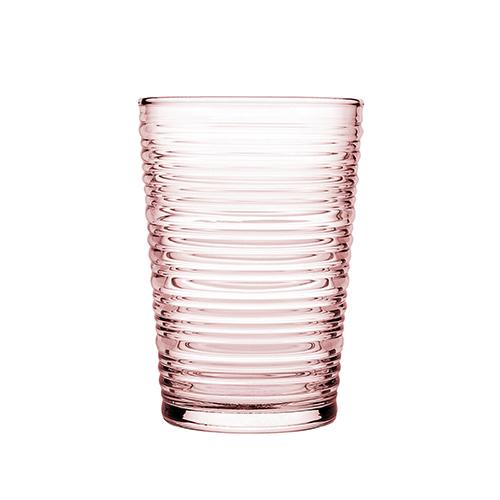 Wasser und Saftglas rose 425 ml 3er Set